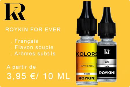 Roykin e-liquide